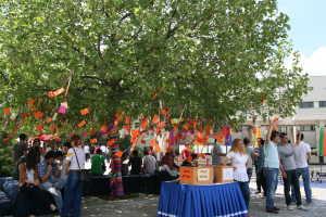 Warna-warni festival musim semi di Bilkent University
