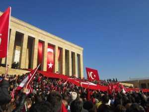 Peringatan hari meninggalnya Mustafa Kemal Atatürk di makamnya, Anitkabir