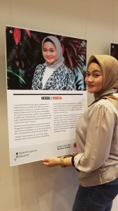 Sasha saat menghadiri peluncuran studyNT Ambassador tahun 2016 di Darwin