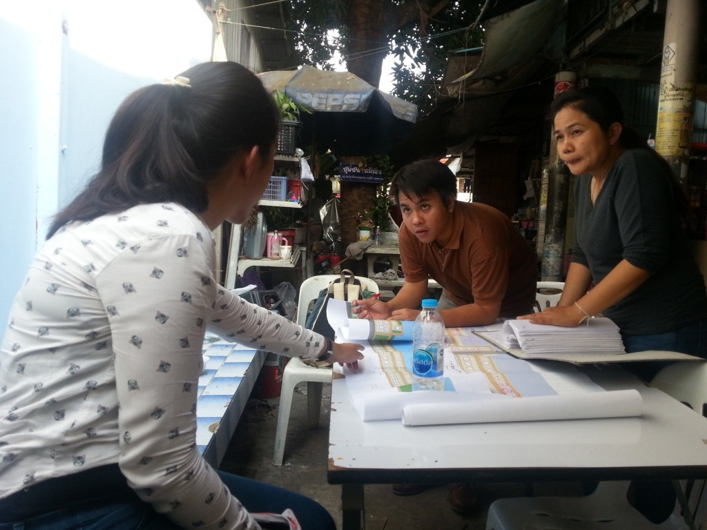 Diskusi dengan tim CODI dan community leader