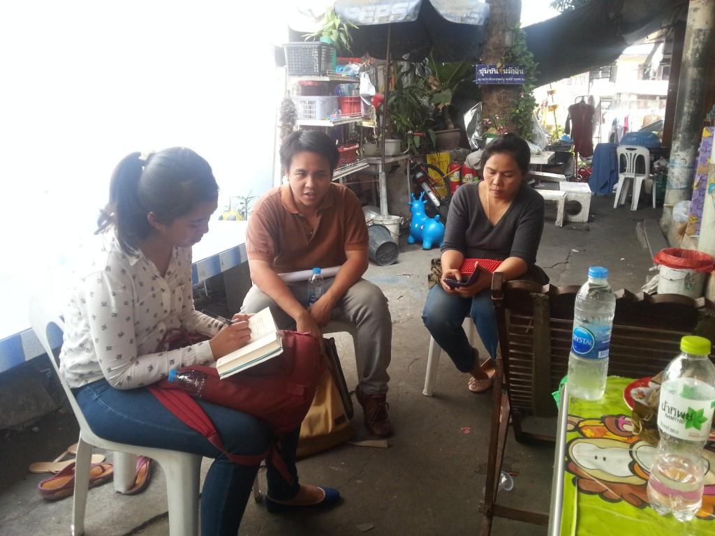 Wawancara dengan tim CODI dan community leader