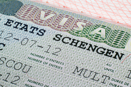 Multiple entry Schengen visa. Image by Shutterstock.