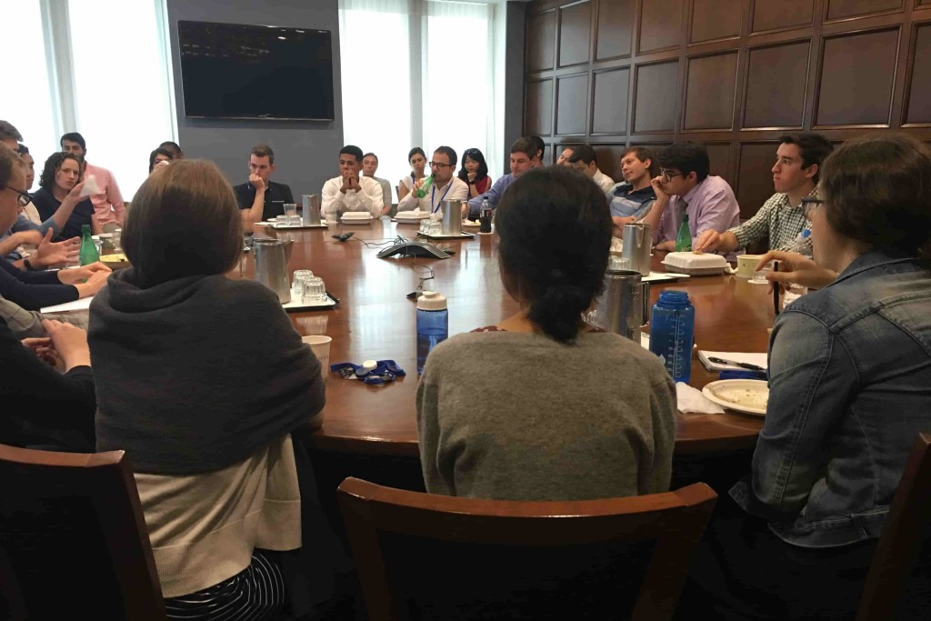 Brownbag discussion for young researchers. (Photo by Author)