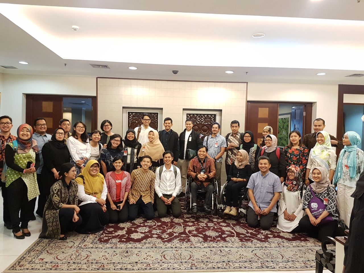Our participation at a discussion held by Kantor Staf Presiden