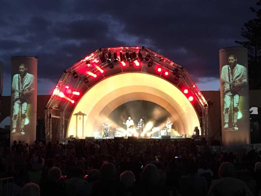 Konser malam tahun baru di Napier