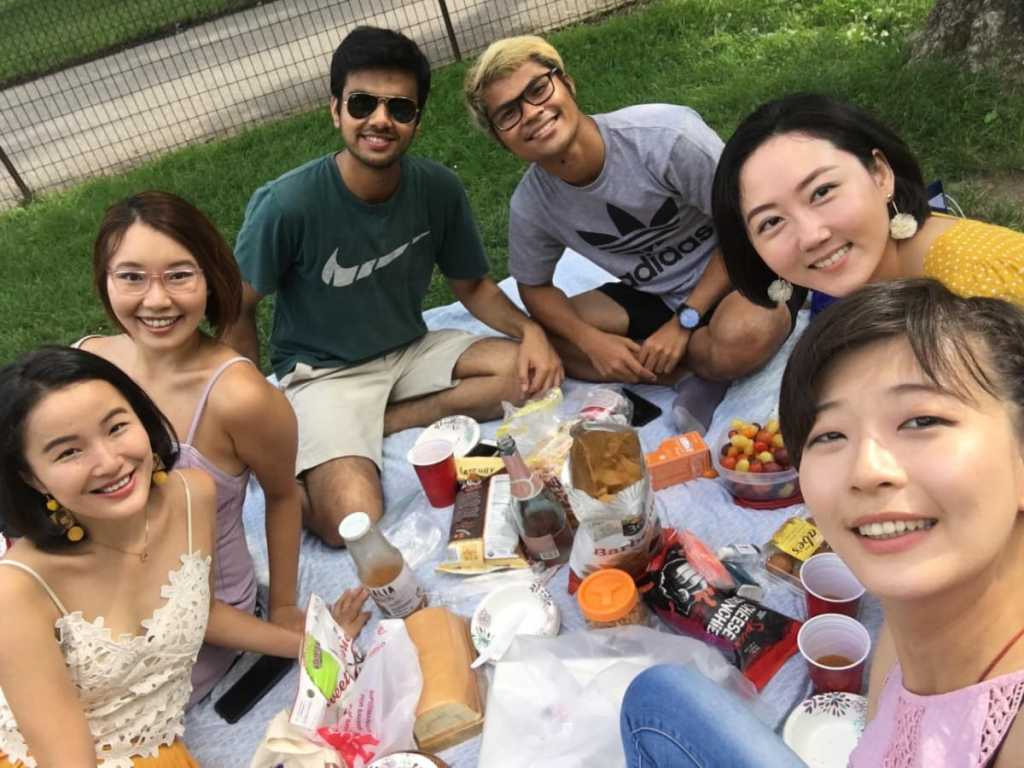 Picnic at Central Park