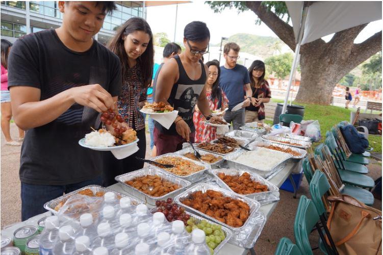 Potluck masakan Indonesia