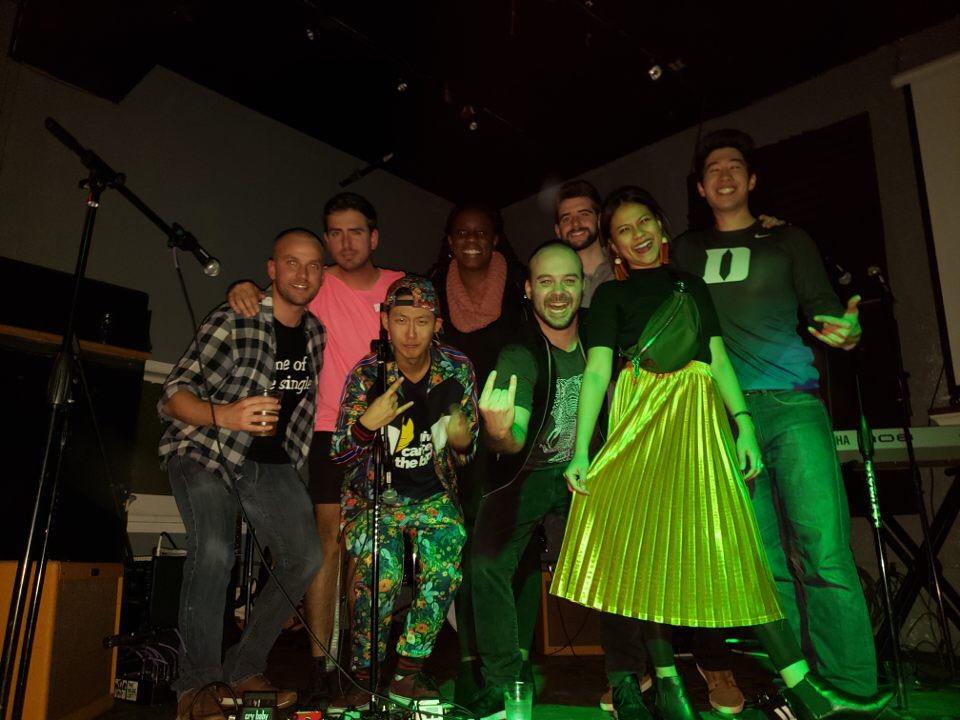 Winny with Arts@FuquaClub. Photo provided by Winny