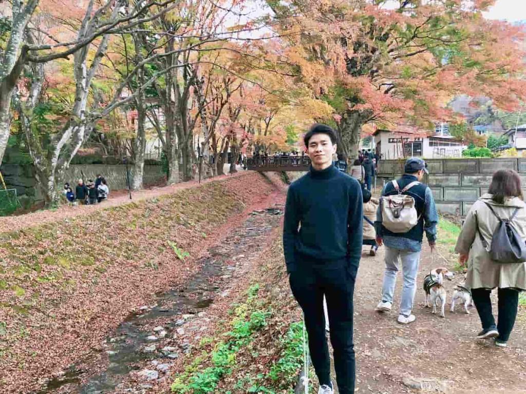 Kevin Mandala Adriansyah | S1 Fakultas International Relations, University of Shizuoka Penerima beasiswa Banjo Foods dan Shizuoka Bank