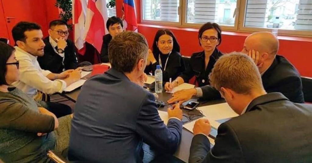 Seminar dan diskusi di HQ CLS (Collecte Localisation Satellite) Toulouse, Prancis. 2019 / Foto dari narasumber