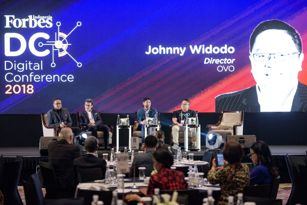 Johnny at Forbes Digital Conference 2018