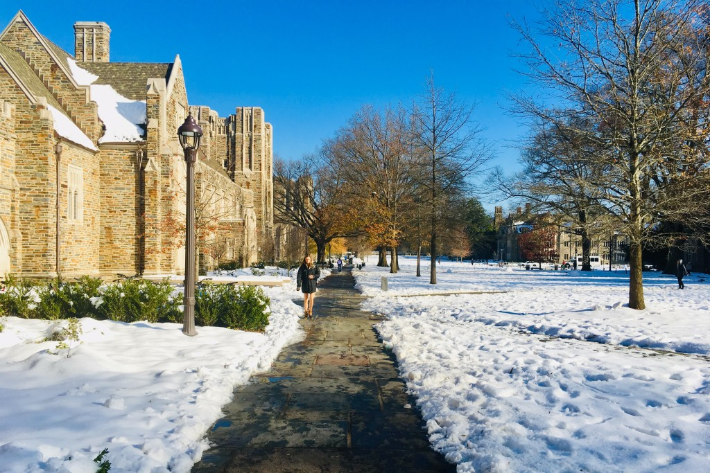 West Campus in Winter