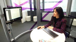 Ruang privat untuk menyusun penelitian disertasi di Newcastle University. Foto oleh Citra.