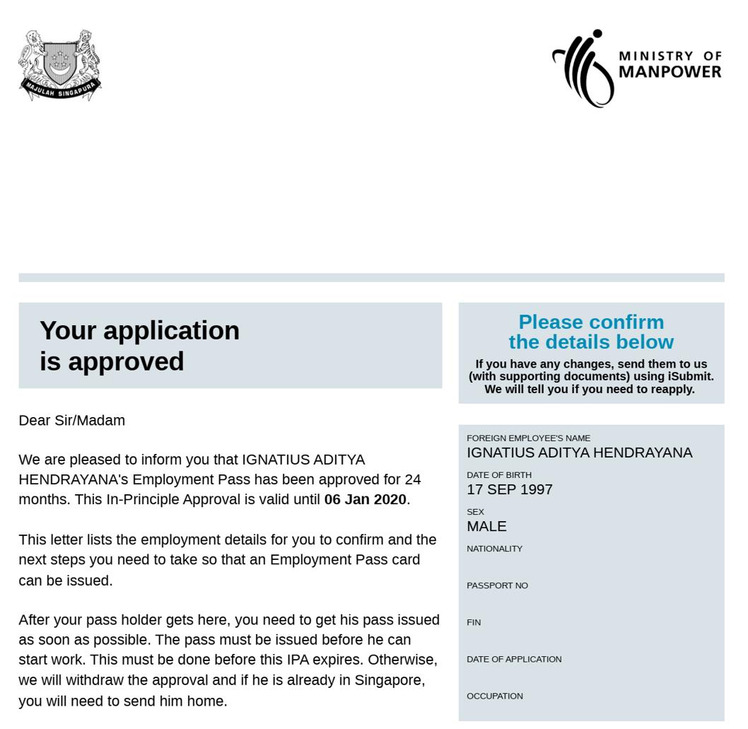 Visa Pekerja Pengusaha Dan Professional Singapura Indonesia Mengglobal
