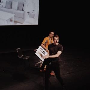 Pertunjukan di Leiden. Foto oleh penulis.