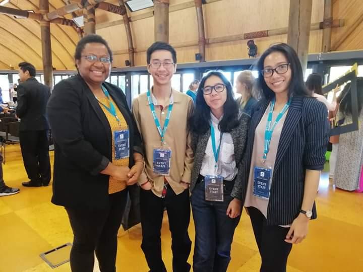 """Volunteer acara """"Completion Ceremomy' untuk para penerima beasiswa dari pemerintah Selandia Baru"""