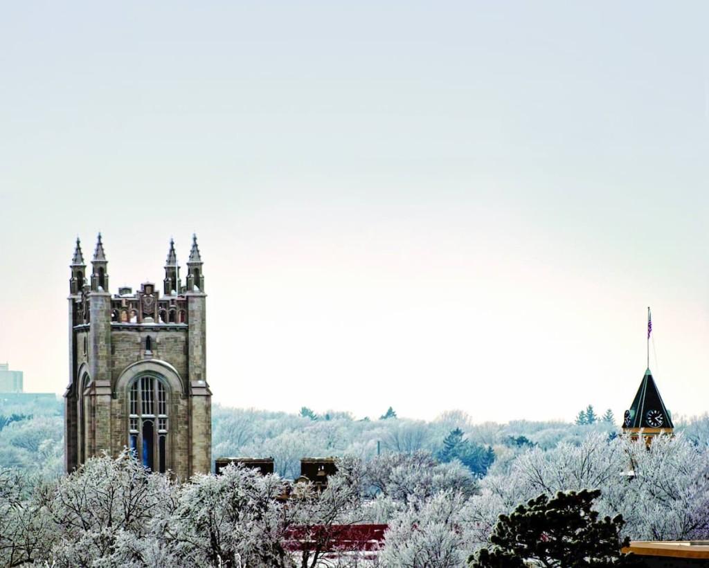 Carleton in the winter