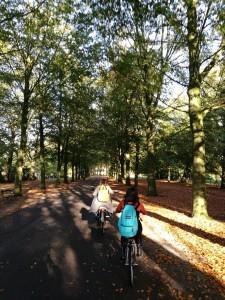 Cara Merawat Diri 1: bersepeda random di Japanese Garden, Den Haag. Foto oleh Yolanda.