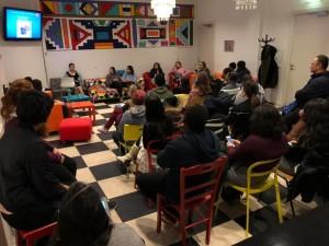 Cara Merawat Diri 2: ikut workshop tentang mental health dari kampus. Foto oleh Yolanda.