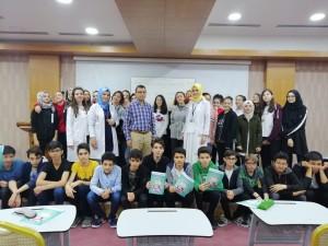 Bersama murid-murid dan rekan guru