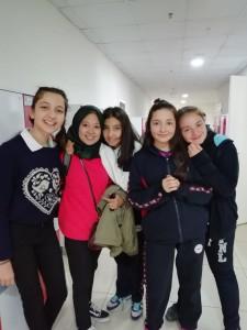 Bersama beberapa siswa