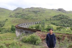 Jembatan ikonik Skotlandia. Foto oleh penulis