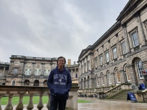 University of Edinburgh. Foto oleh penulis.