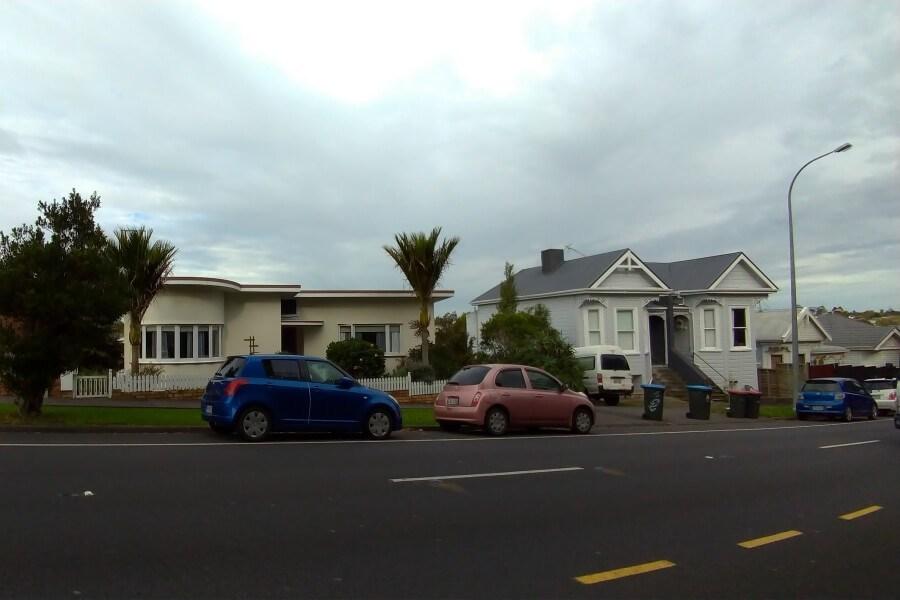 Rumah penduduk di Auckland
