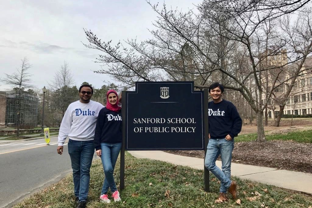 Sanford School of Public Policy.