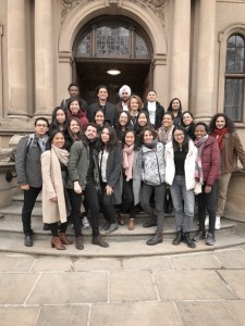 The class of MSc Social Innovation & Entrepreneurship 2018-2019. Photo by Nadia Karina.