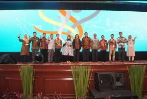 Penghargaan startup terbaik di festival kewirausahaan LPDP, 2018.