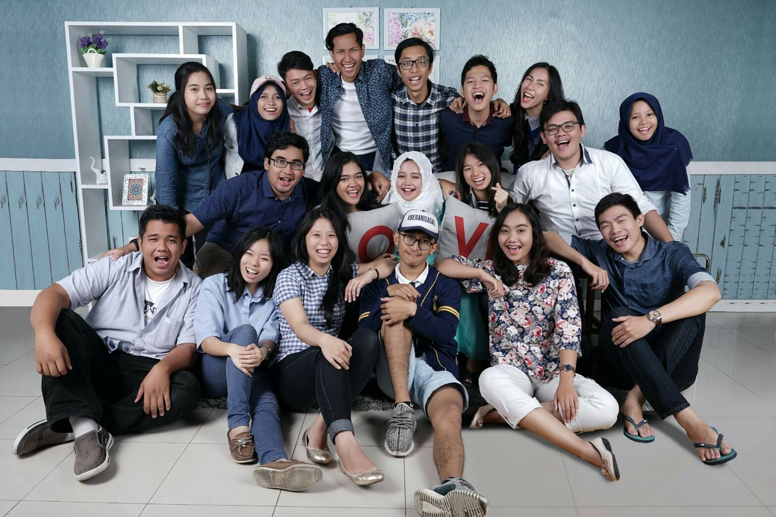 With my department at BEM FEB UGM