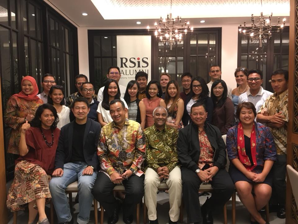 At RSIS Alumni Association event in Jakarta