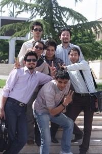 Bersama teman-teman kuliah