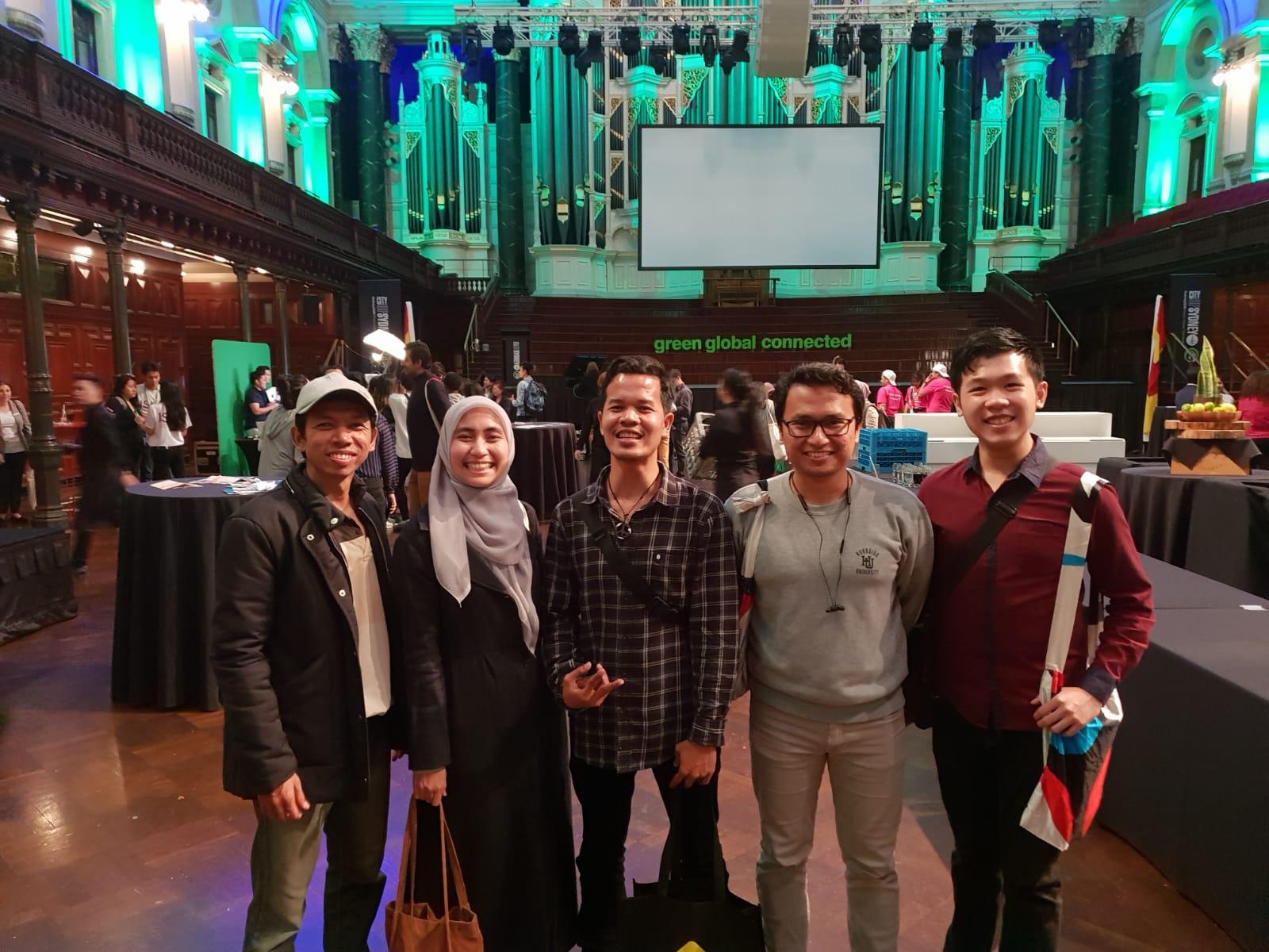 Penyambutan mahasiswa internasional oleh Lord Mayor