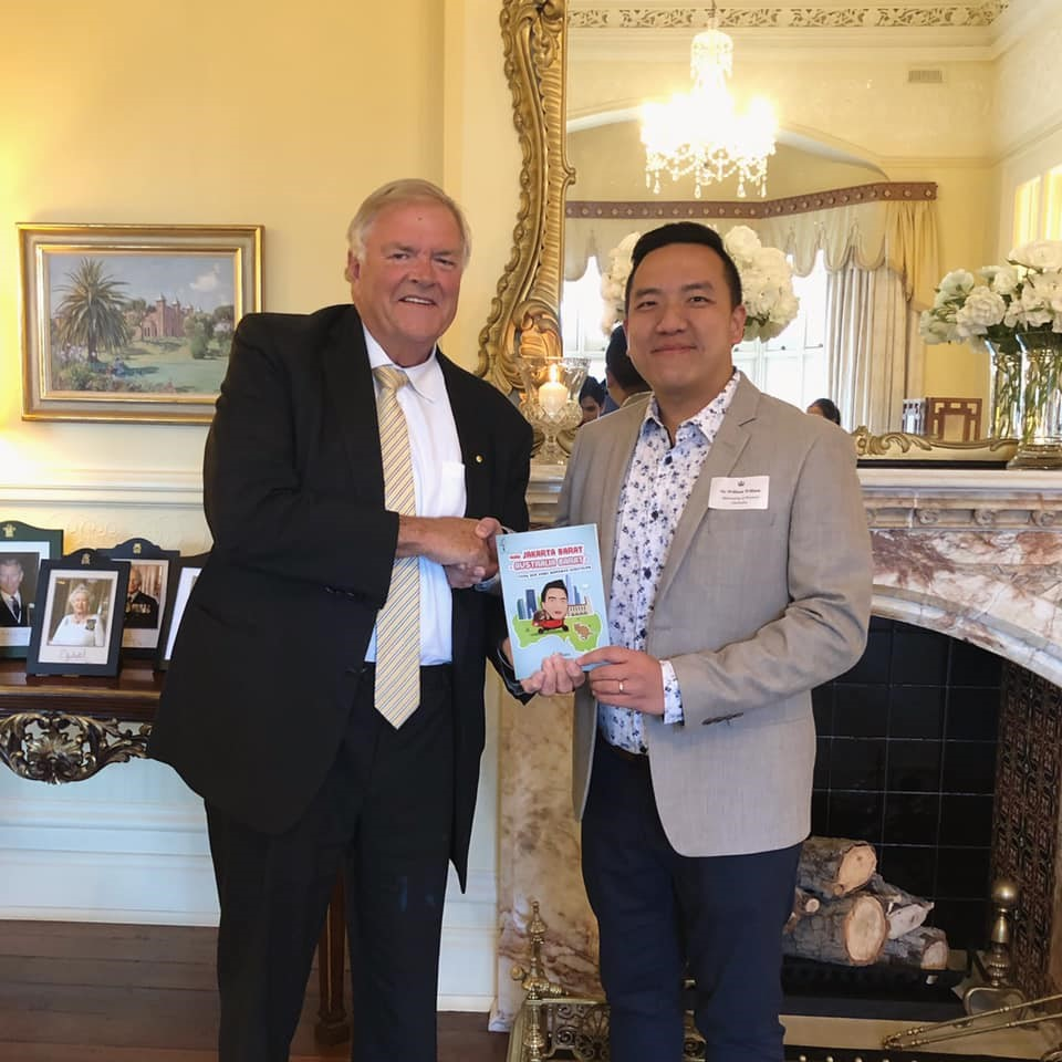 With The Honourable Kim Beazley (Governor of Western Australia)