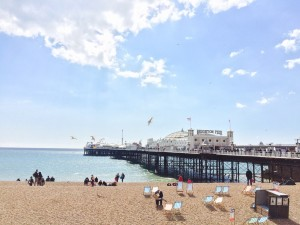 Beatiful Brighton, where Indonesian Diane Anggraeni spent a year pursuing her master's
