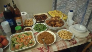 Indonesian Novelita W. Mondamina and her friends loved to prepare food together for group iftar in Southampton, UK