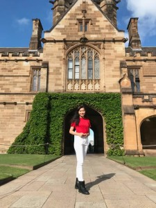 Fransiska at The University of Sydney. Source: Contributor