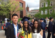Abby's graduation in 2017