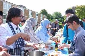 The Indonesian community in Southampton, UK, enjoyed a warm and friendly Eid celebration