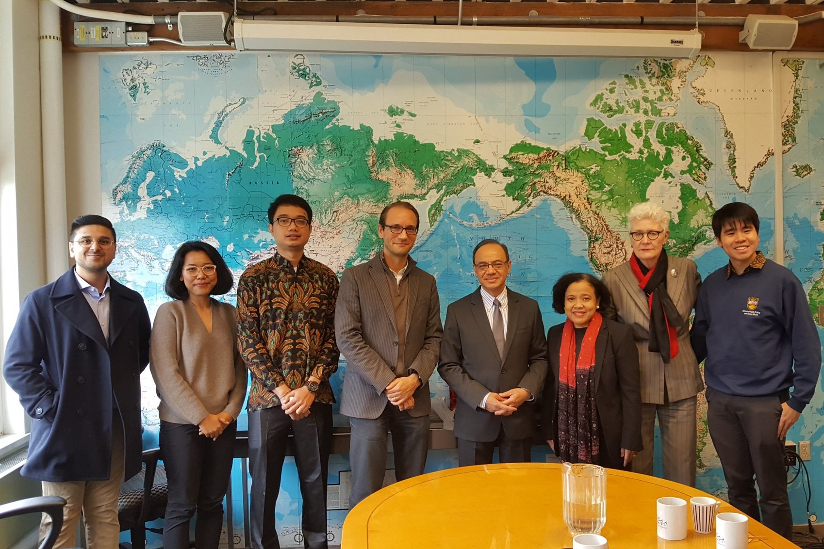 Meeting with Indonesian Ambassador to Canada.