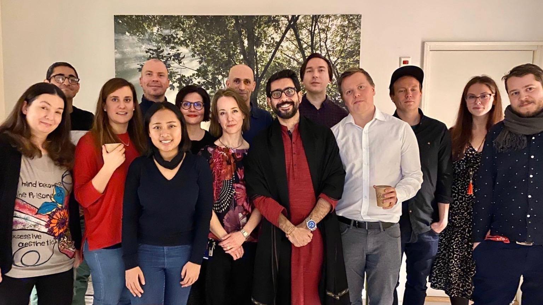 Bersama kolega jurusan Global and Transnational Sociology