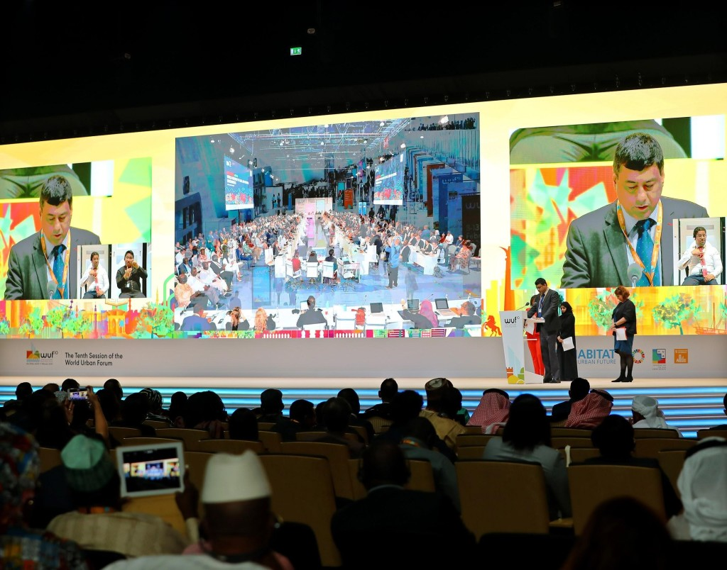 World Urban Forum 10 in Abu Dhabi. Source: UN-Habitat
