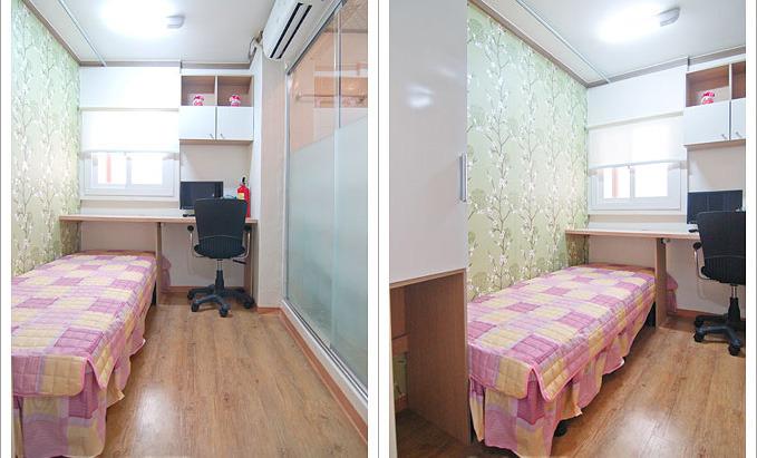 Contoh kamar goshiwon di Seoul, masih banyak yang lebih mewah atau menyedihkan dari ini. Percayalah, petualangan mencari goshiwon akan menjadi kenangan tersendiri. Jangan lupa minta bantuan orang lokal atau orang Indonesia yang telah tiba lebih dulu. (Source: Goshiwon Story)