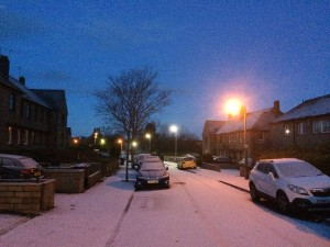 Indonesian Khairul Ikhwan experienced snowy winters while in the UK