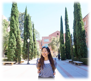 Gabrielle during summer exchange at UCLA. Source: Personal Documentation