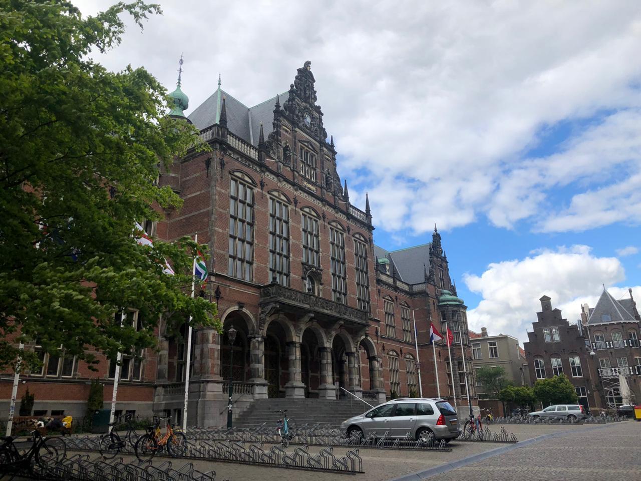Kondisi terkini University of Groningen yang masih relatif sepi