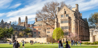 Yale University (Source: https://admissions.yale.edu/)