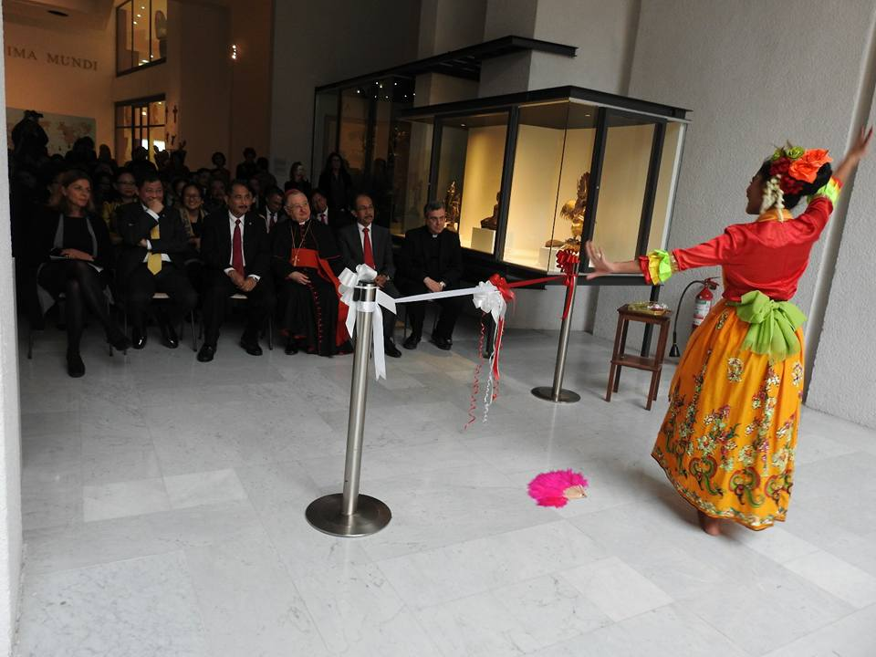 Kapan lagi bisa berkesempatan menari di Vatikan?